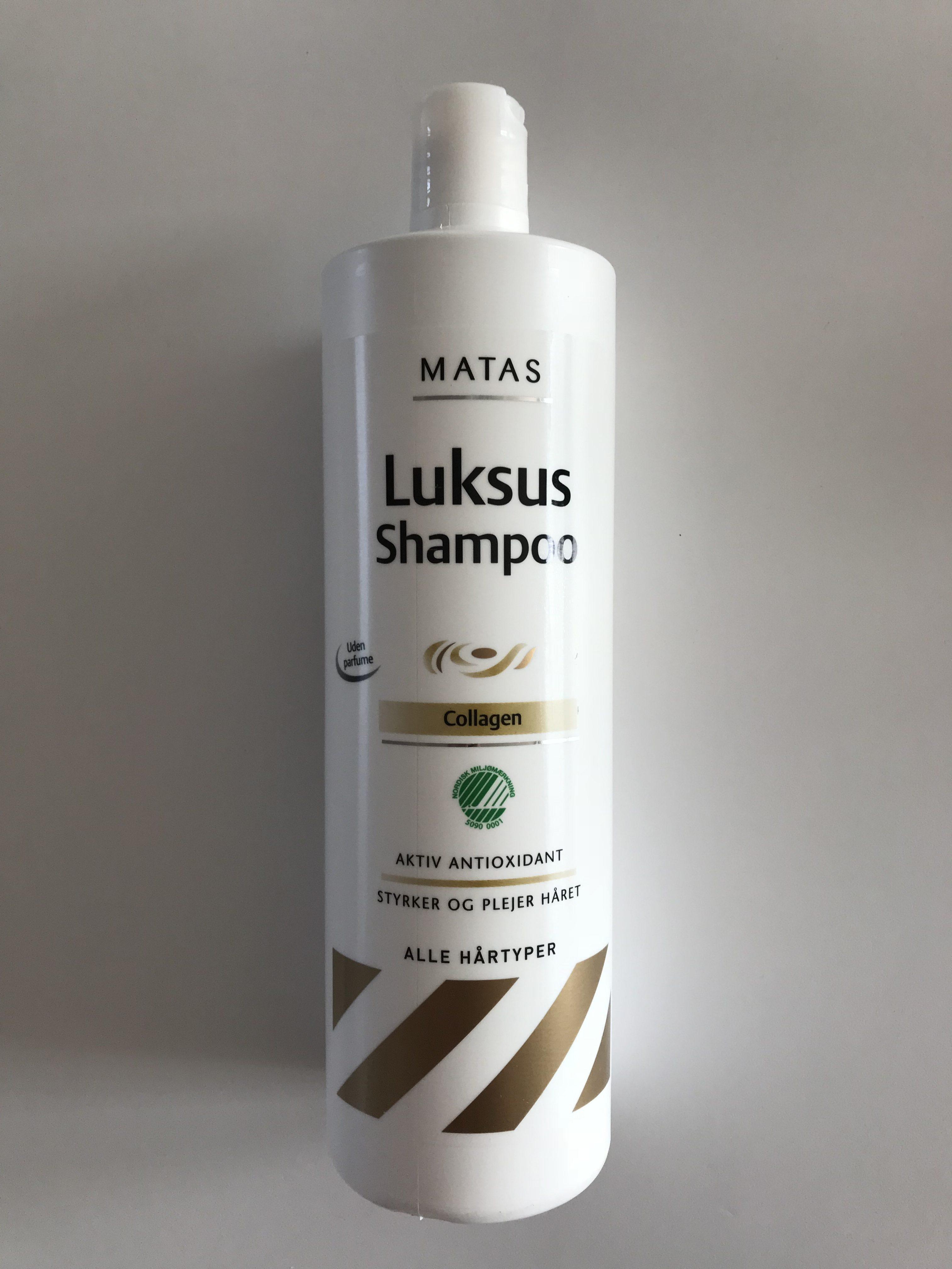 matas luksus shampoo test
